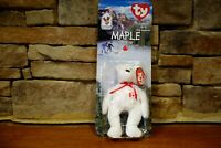 Ronald McDonald House Charities Maple The Bear Retired Ty Beanie Baby Tag Error