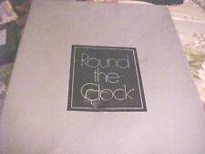 Vintage Round the Clock Plain Knit NYLON Stockings Size 10 1/2 GARTER BELT HOSE