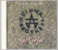 KR'SHNA BROTHERS FOOD FOR LIFE SPIRIT FOR FUCK 1 PRESS LOUD OUT RECORDS 1994