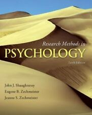 New Research Methods in Psychology by Shaughnessy & Zechmeister  US EDITION
