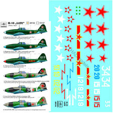 HAD Decals for 1/48 Hun/Soviet/China IL-10 (late)