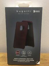 Bugatto Porto Ultrasuede Snap Case for Samsung Galaxy S9 Ultra slim - New