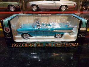 Crown Premiums NAPA 1957 Bel Air Convertible 1:24 Scale Diecast Model Car