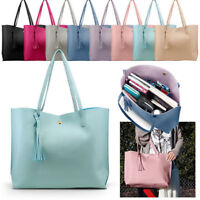 Women Leather Handbag Shoulder Lady Purse Messenger Satchel Crossbody Tote Bag Z