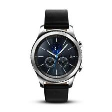 Samsung Gear S3 Classic SM-R770 Smartwatch - Black Leather w/ Large Band