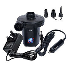 240V/12V ELECTRIC AIR PUMP AIRBED TOYS INFLATE INFLATABLE CAMPING UK MAINS PLUG