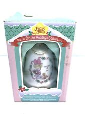 "Precious Moments 111147 Porcelain Holiday Bell ""Tidings of Joy"" 1996 w/Box"