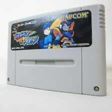 Super Famicom ROCKMAN & FORTE Nintendo Mega Man & Bass Video Game Cartridge sfc