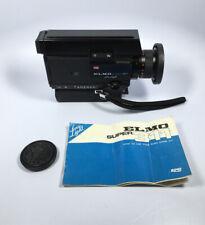 Vintage Elmo Super 311 Low Light 1:1.1 9-27 mm Super8 Movie Camera Untested