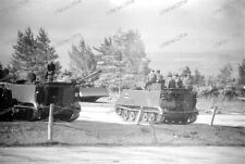 Panzer-M 113-trasporto carri armati-Technik-cisterna esercito tedesco-Grafenwöhr - 1967