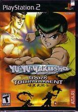 Yu Yu Hakusho Dark Tournament PS2 PlayStation 2 Video Game Mint Cond UK Release