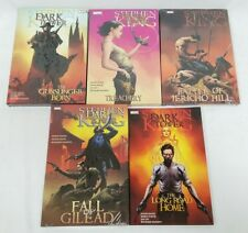 Stephen King Dark Tower 5 Book Set Marvel Gunslinger Born Fall Gilead Jericho ++