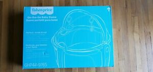 FisherPrice Baby On-the-Go Baby Dome Play or Nap Space Folds Flat Easy Clean New
