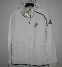 Adidas NHL Anaheim Ducks Hooded Hockey Jacket Mens Sizes New $120