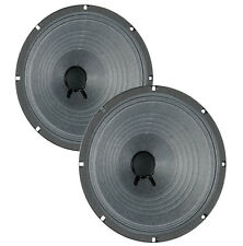 Pair Eminence Legend 1028K 10 inch Lead Rhythm Guitar Replacement Speaker 8 ohm
