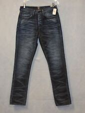C0 NEW PRPS E81P214P Men's Indigo Mid Rise Slim Fit Jeans Size 30 $178
