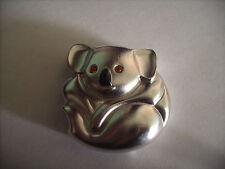 "Estee Lauder Solid Perfume Compact ""Koala Bear"" Rare & Hard to Find"