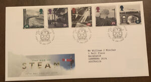 1994 The Age Of Steam Great Britain FDC York