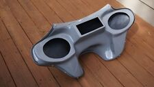Harley Davidson Road King motorcycle fairing fiberglass batwing 6x9 speaker Gray