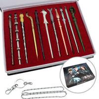 11Pcs Magic Wands Harry-Potter-Hermione-Dumbledore-Sirius-Voldemort Xmas Gifts