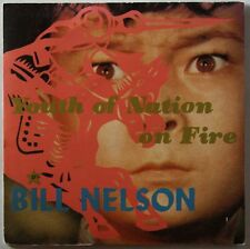 Bill Nelson Youth Of Nation On Fire 1981 Ltd Double 7inch Be-Bop Deluxe