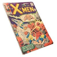 X-Men #15 (Dec 1965 Marvel) 1st App. Master Mold Origin of Beast, Silver Age Key