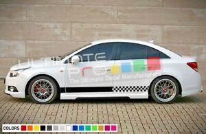 Sticker Side Door Stripes for Chevrolet Cruze 2007 2008 2010 2015 2020 Racing cd