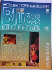 THE BLUES COLLECTION CD #15  Fats Domino + MAGAZINE Orbis BLU NC015