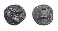 Cyprus, Salamis AR Stater. Evagoras I,goat