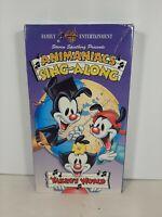 Animaniacs Yakko's World Rare Sing Along Warner Bros VHS