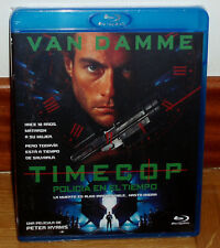 TIMECOP POLICE IN TIEMPO BLU-RAY NEW SEALED ACTION (WITHOUT OPEN) R2