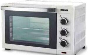 Fornetto Elettrico Ventilato Zephir Forno Elettrico 33 Litri 1600W Timer ZHC33B