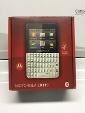 Motorola EX119 Dual SIM Card Slot T-Mobile Cell Phone