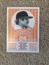 ++ RICK DEMPSEY 2013 PANINI CITY HALL BASEBALL CARD #CH8 - BALTIMORE ORIOLES ++