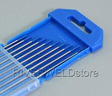 2% Lanthanated WL20 Sky Blue TIG Welding Tungsten Electrodes 1.6mm x 150mm,10PK