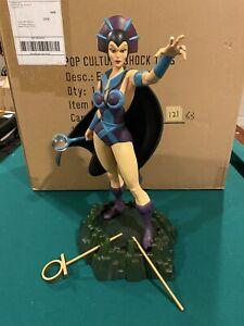 Pop Culture Shock He-Man Masters Of The Universe Ex. Evil-Lyn Statue PCS MOTU
