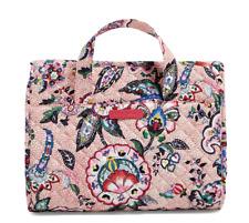 Vera Bradley Iconic Hanging Travel Organizer - Stitched Flowers - Cosmetic Bag