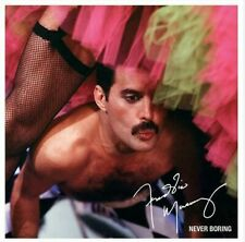Freddie Mercury - Never Boring ( AUDIO CD in JEWEL CASE ) QUEEN  FREE SHIPPING
