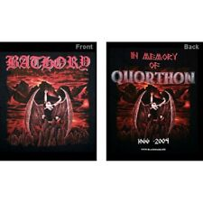 T-Shirt BATHORY In Memory Of Quorthon - Size L - New -Official merchandising