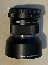 Olympus M.Zuiko 45mm f/1.8 ED Lens