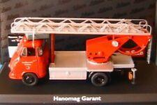 HANOMAG GARANT FEUERWEHR MIT BACHERT DREHLEITER SCHUCO 03241 1/43 FIRE ENGINE