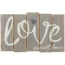 wooden sign Love Sweet Love Rustic Wood Wall  farmhouse style sign wall decor