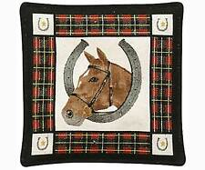 Spice Filled Horse Mug Mat for Tea or Coffee Aromatic Spice Scent