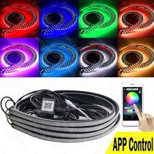 New App Control Rgb Led Strip Under Car Tube Underbody Neon Lights Kit