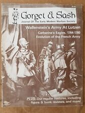 GORGET & SASH VOL 1 NO.3 - WALLENSTEIN ARMY AT LUTZEN