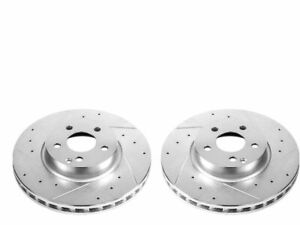 For 2008-2015 Mercedes C350 Brake Rotor Set Front Power Stop 53272PC 2009 2010
