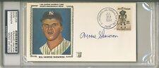 MOOSE SKOWRON Signed New York Yankees First Day Cover PSA/DNA Jim Thorpe Stamp