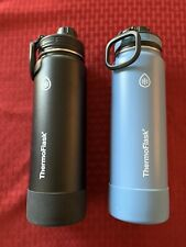 Used Thermoflask 24oz Insulated Stainless Steel Water Bottle 2-pack