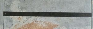 """Vintage L.S. Starrett Co. #414 Steel Ultility Ruler 24"""" Made In USA"""