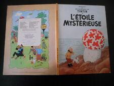 Hergé - Les aventures de TINTIN - L'étoile mystérieuse - Casterman
